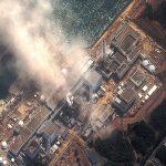 Fukušima zo satelitu 14. marca 2011, tri dni po nehode. DigitalGlobe/Getty Images