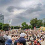 Japonsko: Protest proti jadrovej energii 19. septembra 2011. Zdroj: Wikipedia