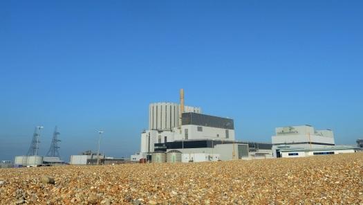 Dungeness B má dva plynom chladené reaktory s výkonom 535 MW. Foto: EDF