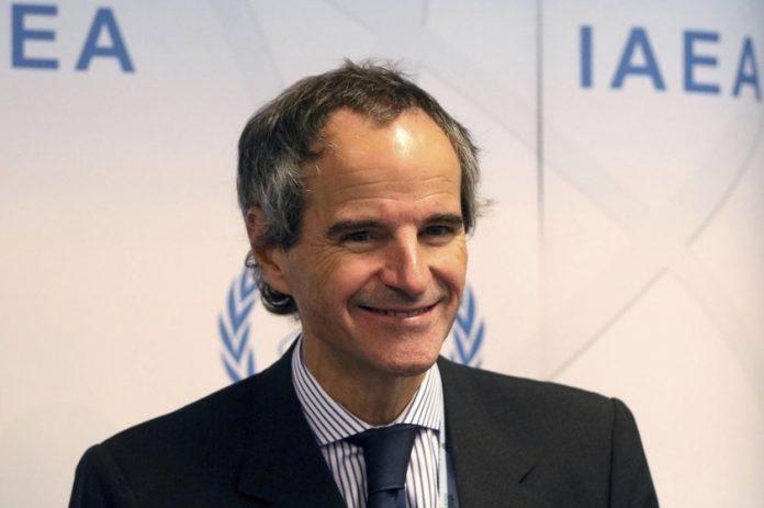 Rafael Mariano Grossi, nový riaditeľ Medzinárodnej agentúry pre atómovú energiu (MAAE) na tlačovej konferencii v Medzinárodnom centre vo Viedni, Rakúsku, 16. septembra 2019. Foto: Associated Press