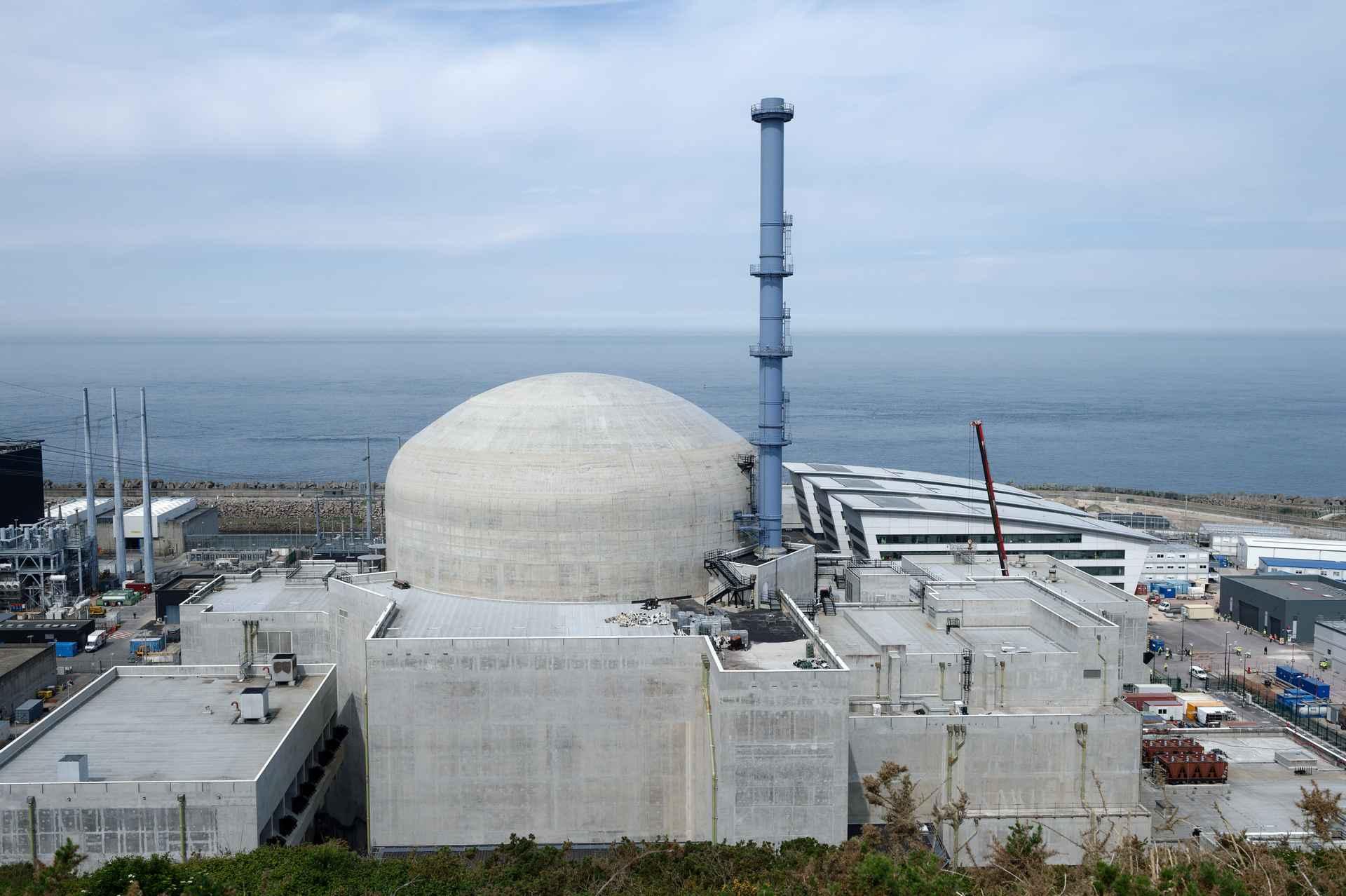 Elektráreň Flamanville 3. Foto: EDF (20/06/2019)