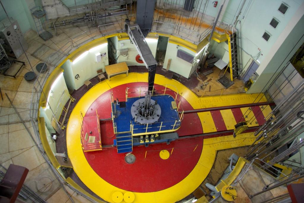 Výskumný reaktor MIR, Rusko