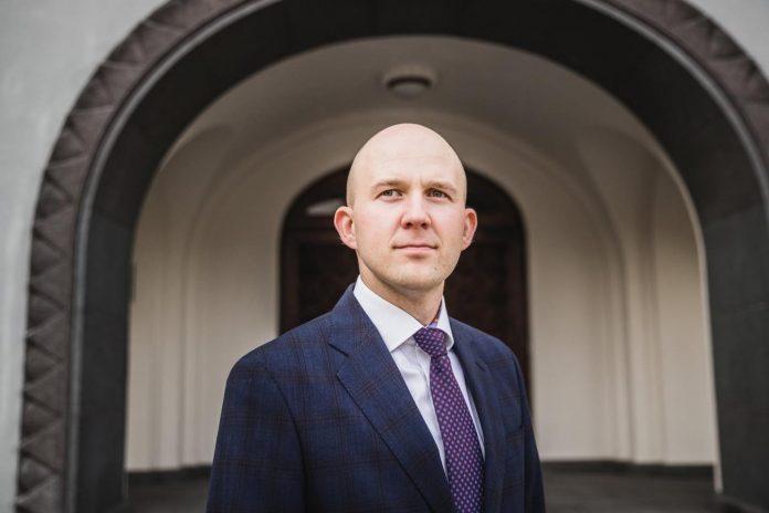 Estónsky minister životného prostredia Tõnis Mölder