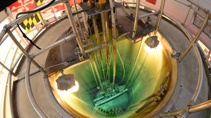 Reaktor TRIGA na Univerzite v Marylande.