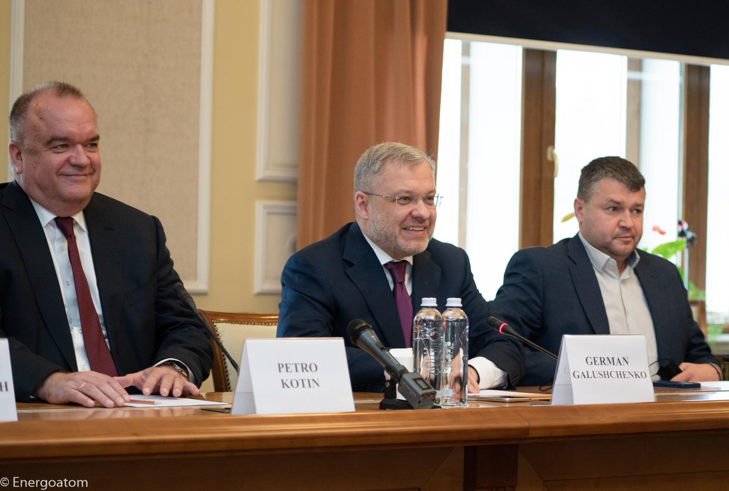 Petro Kotin, Herman Halushchenko a Aziz Dag