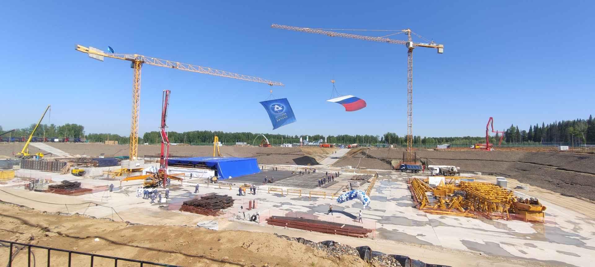 Rusko začína s výstavbou pilotnej elektrárne Brest-OD-300 na Sibíri