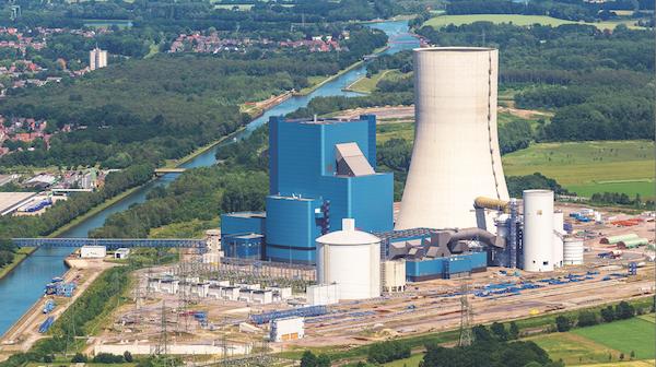 Nemecká uhoľná elektráreň Datteln 4